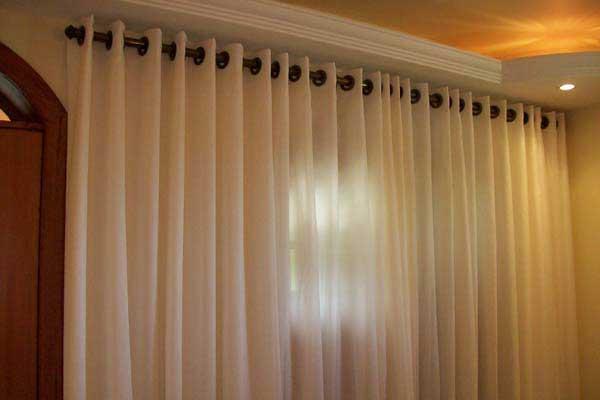 Cortinas for Modelos de cortinas para salon moderno
